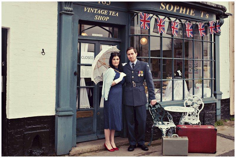 1940's Styled Shoot Peterborough