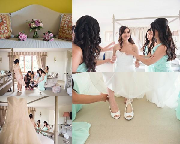 Bride Prep, The Old Hall, Ely, Wedding