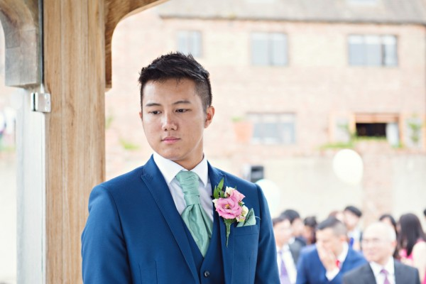 Outdoor Ceremony, The Old Hall, Ely, Wedding