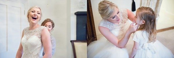 Bride prep - Woodhall Manor