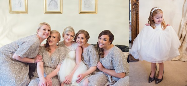 Bride - Woodhall Manor Wedding