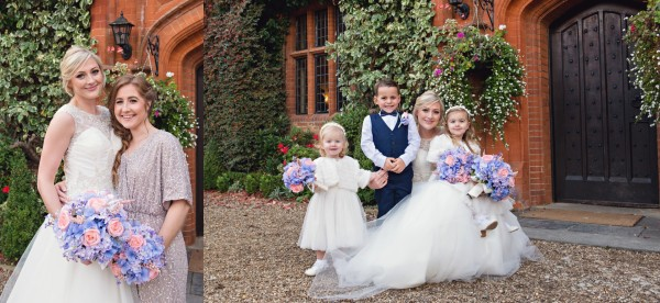 Group Pictures - Woodhall Manor Wedding