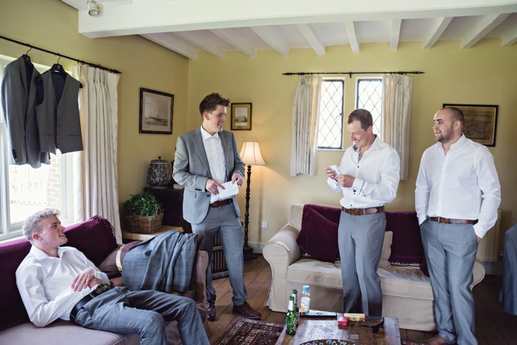 Lincoln Wedding Photography Groom Prep
