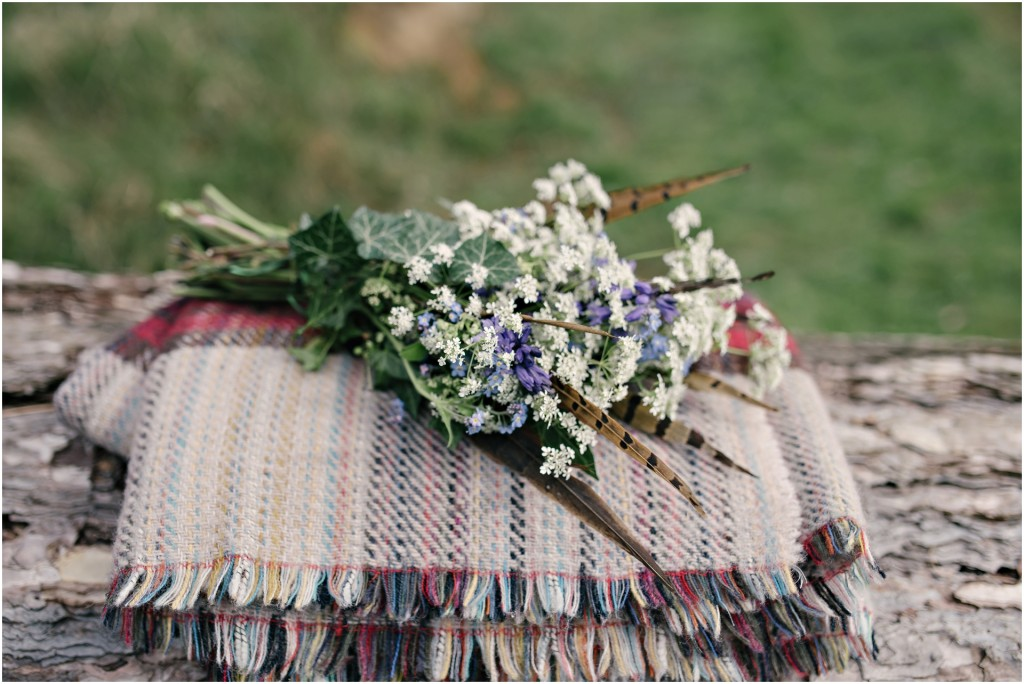 Rustic country flowers