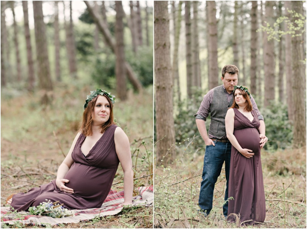 Creative Fine Art Maternity Portraits
