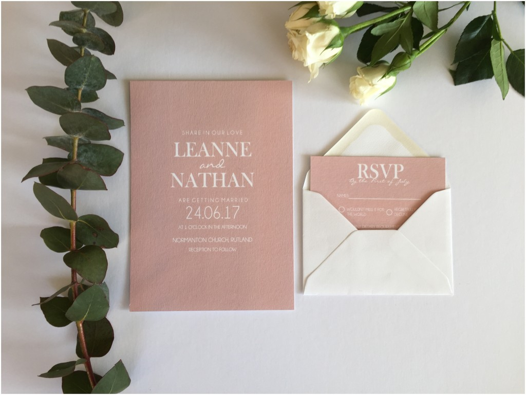 In the Details wedding stationary and design