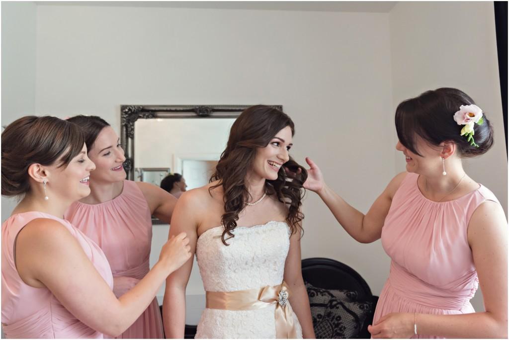 Bridal prep, Swanton Morley House Wedding