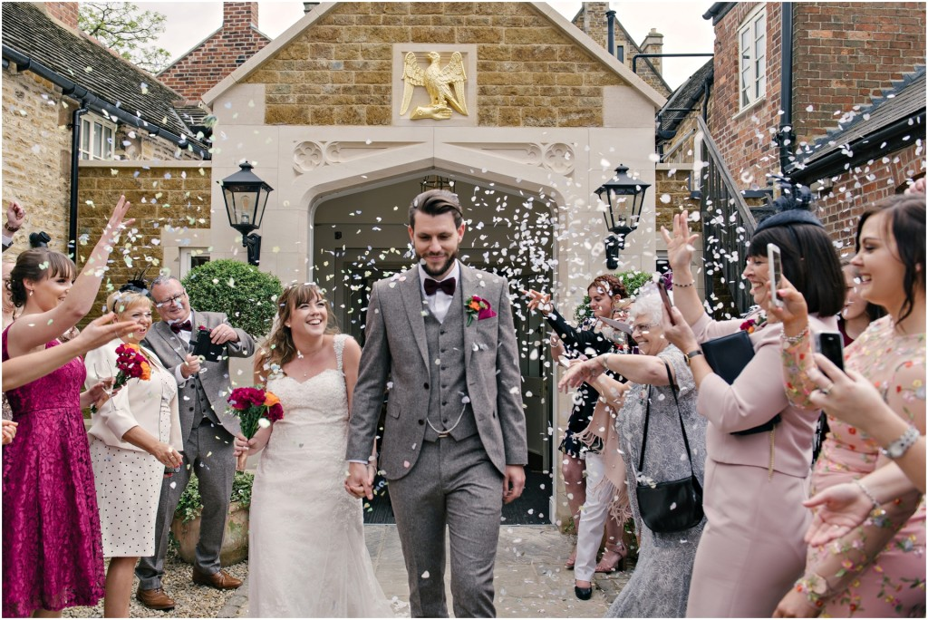 The Falcon Hotel Wedding, Uppingham