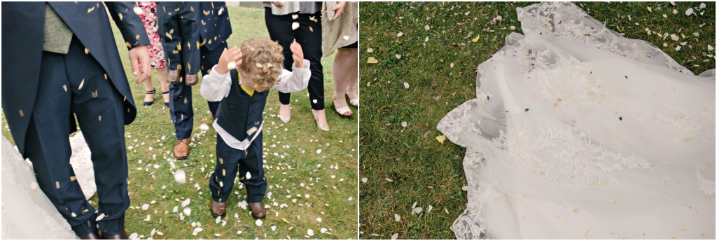 Confetti - The Red Barn Wedding