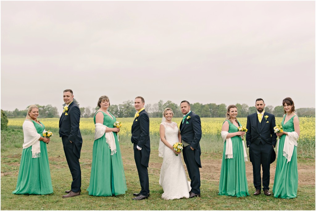 The Red Barn Wedding Bridal Party