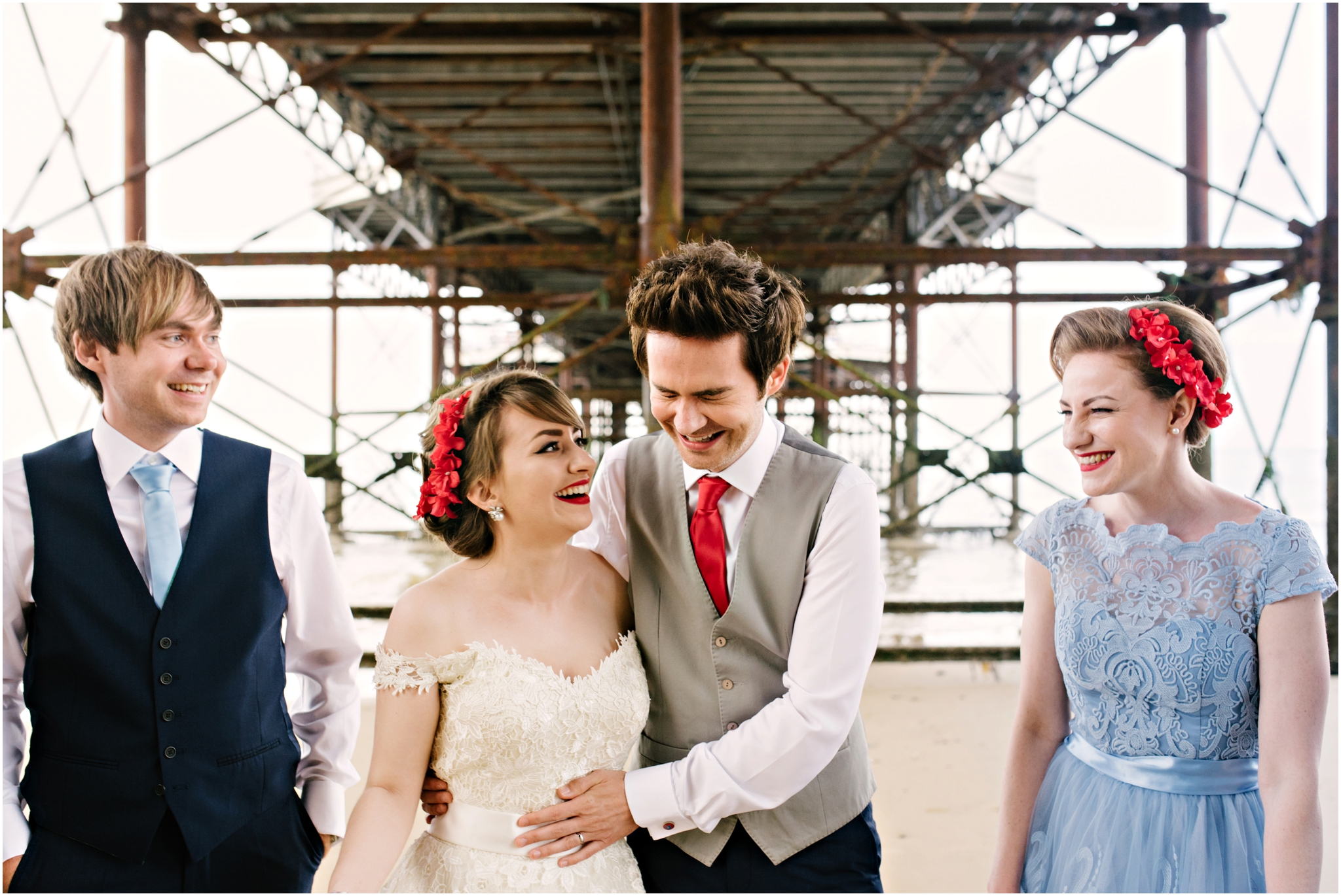 Cromer Pier Seaside Wedding