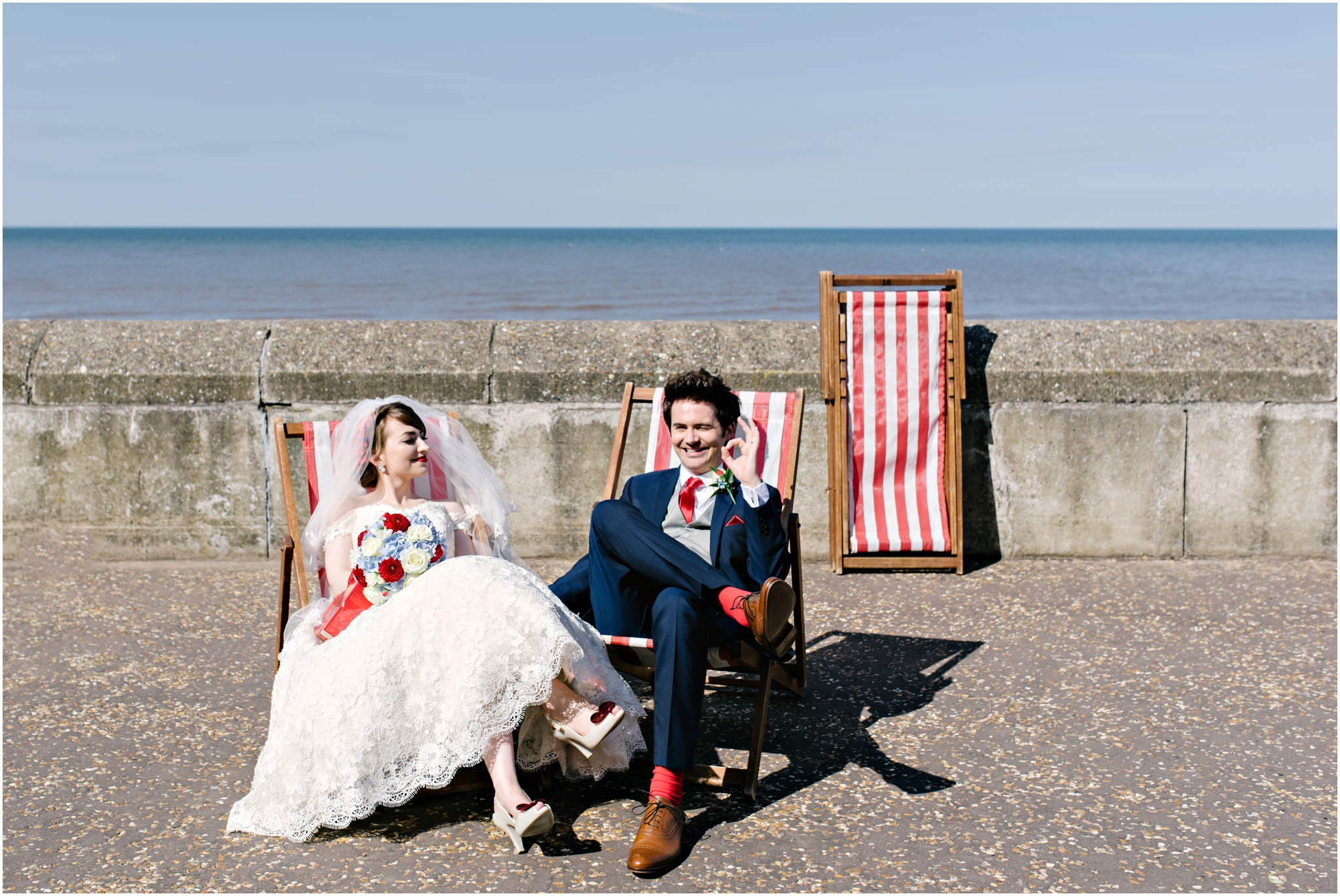 Vintage Norfolk Seaside Alternative Wedding