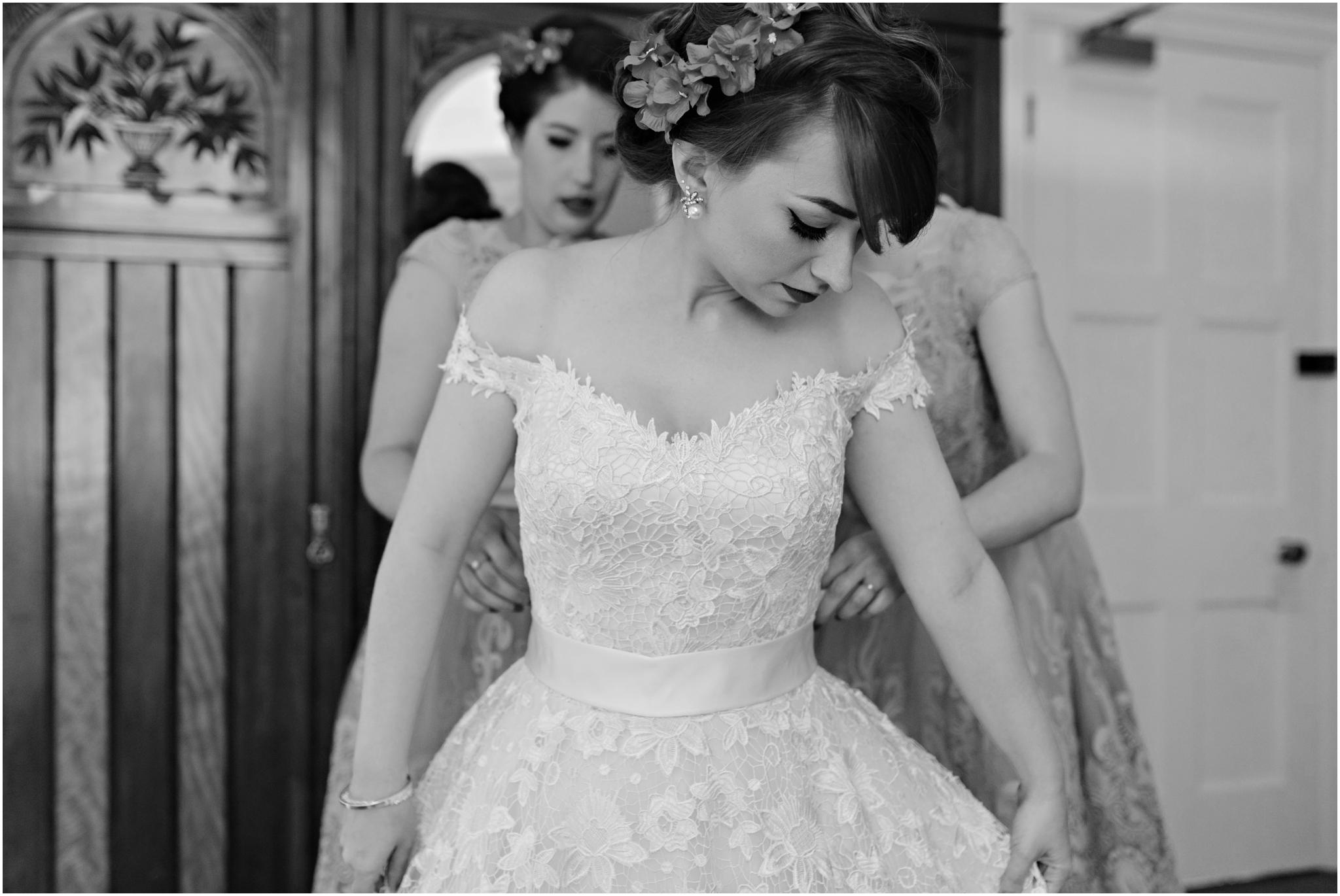Vintage Bridal Prep